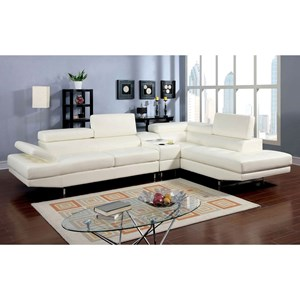 Sectional w/ Speaker Console