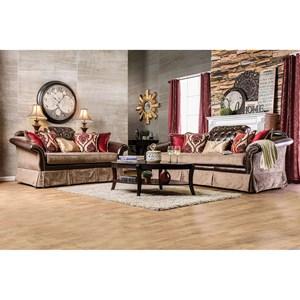 Furniture of America Kinsale Love Seat