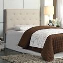 Furniture of America Leeroy Twin Headboard - Item Number: CM7200IV-HB-T