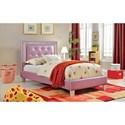 Furniture of America Lianne Twin Bed - Item Number: CM7217PR-T-BED