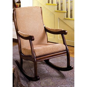 Furniture of America Liverpool Rocking Chair