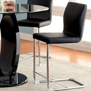 Set of 2 Counter Height Chairs