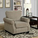 Furniture of America Lynne Sofa + Love Seat + Chair