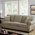 Furniture of America Lynne Sofa - Item Number: CM6818-SF