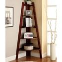 Furniture of America Lyss Ladder Shelf - Item Number: CM-AC6214CH