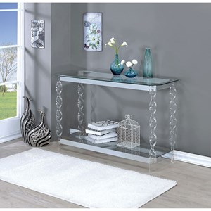 Furniture of America Mallow Sofa Table