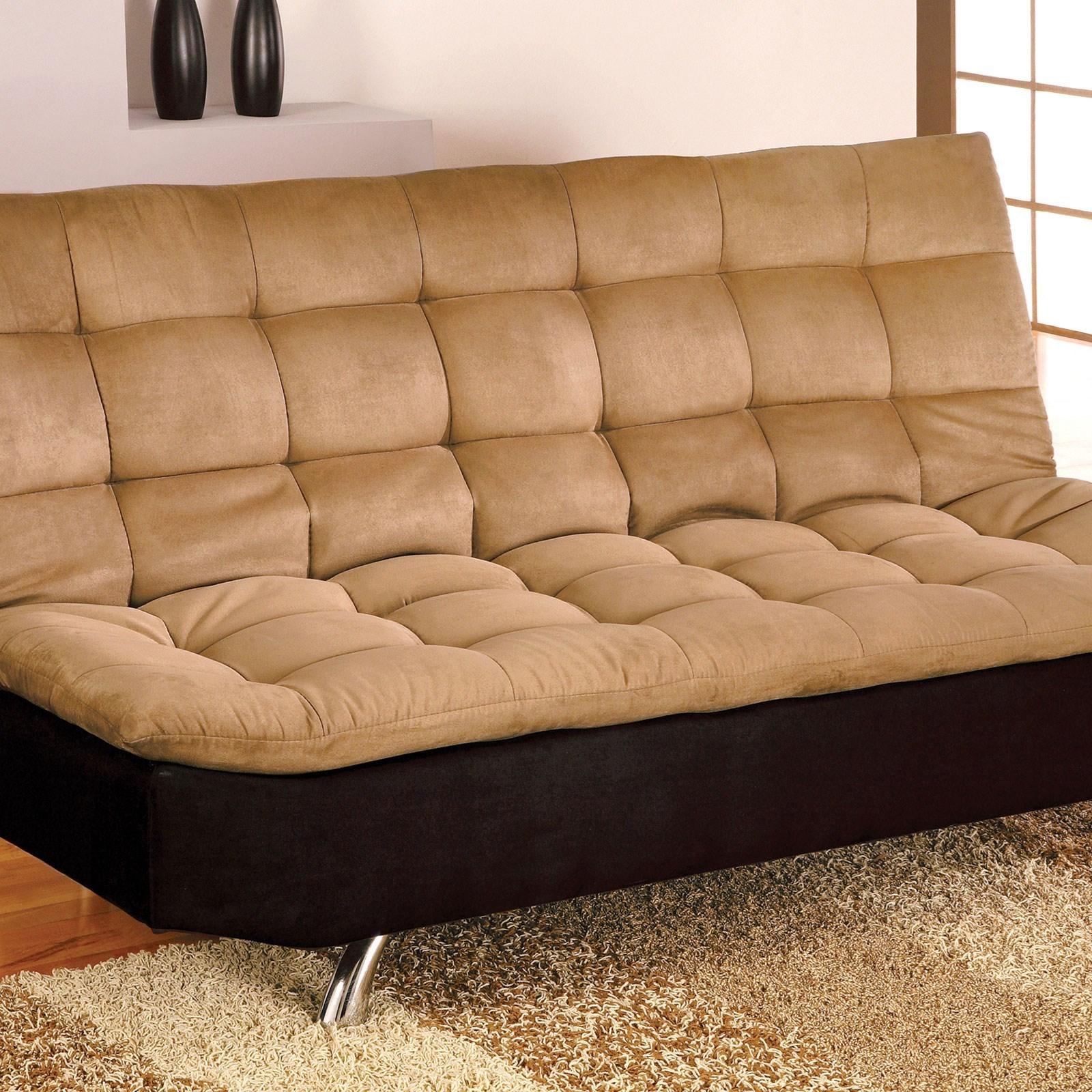 Furniture Of America Mancora Microfiber Futon Sofa