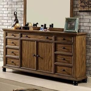 Furniture of America McVille Dresser