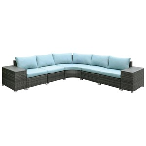 Furniture of America Morgana L-Shaped Sectional