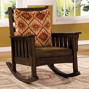 Furniture of America Morrisville Rocking Chair