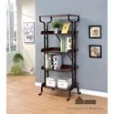 "Furniture of America Newbridge IV 26"" Book Shelf - Item Number: CM-AC6452-26"
