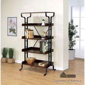 "Furniture of America Newbridge IV 30"" Book Shelf"