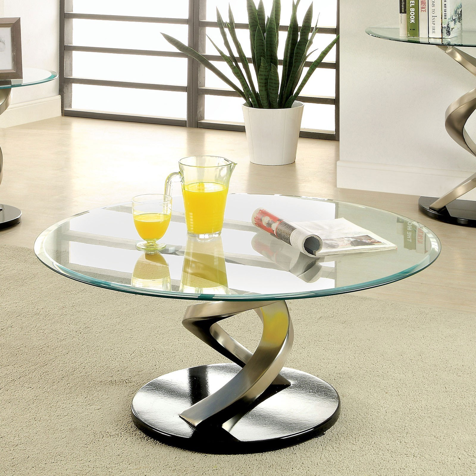 Nova Contemporary Coffee Table By Furniture Of America At Rooms For Less