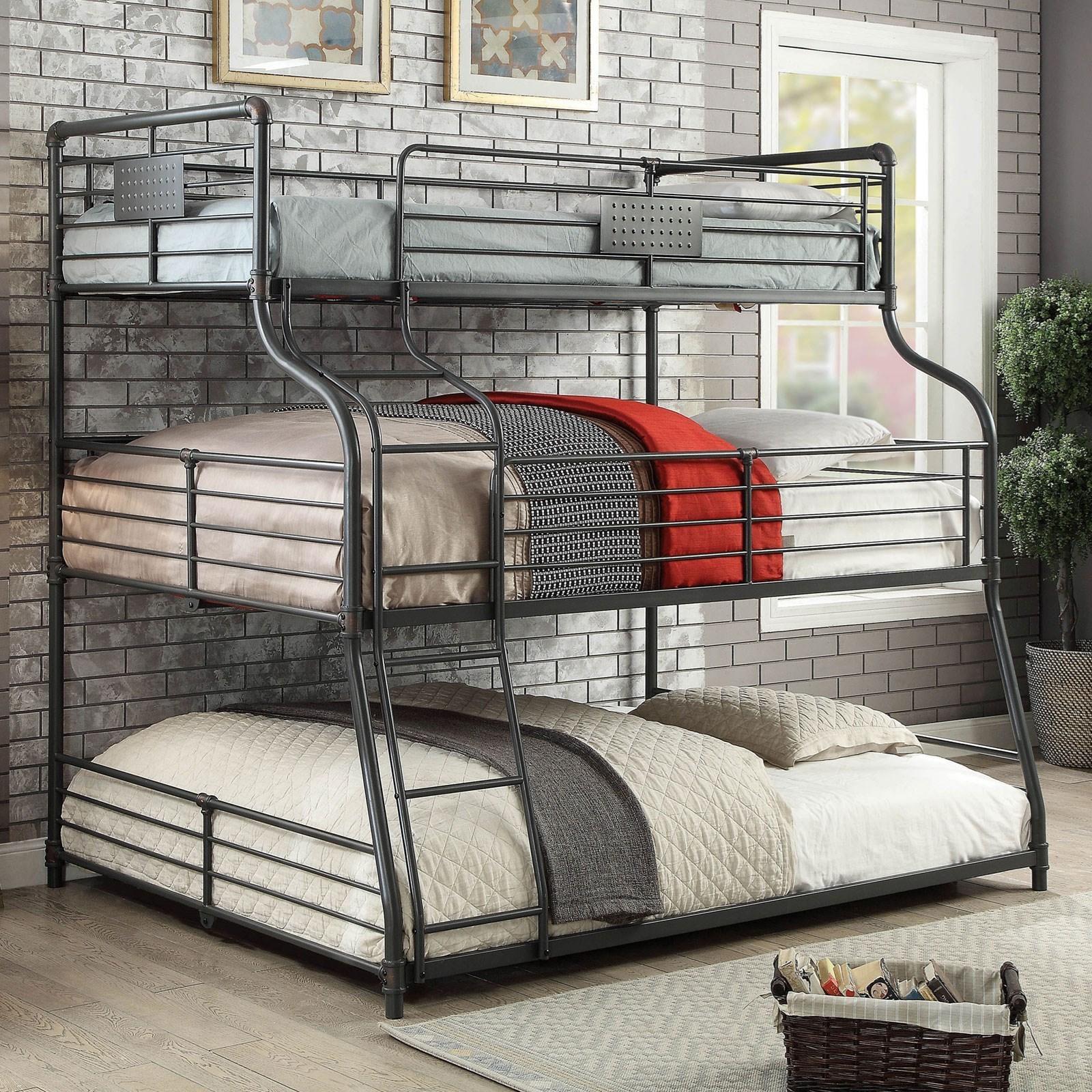 Olga Iii Twin Full Queen Bunk Bed Household Furniture Bunk Beds