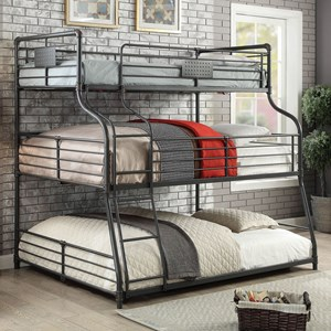 Twin/Full/Queen Bunk Bed