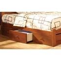 Furniture of America Omnus Drawers (Set of 3) - Item Number: CM-DR452-OAK