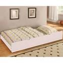 Furniture of America Omnus Trundle - Item Number: CM-TR452-WH