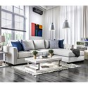 Furniture of America Ornella Sectional - Item Number: SM2671-SECT