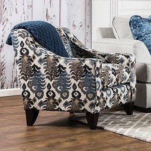 Furniture of America Pennington Upholstered Accent Chair