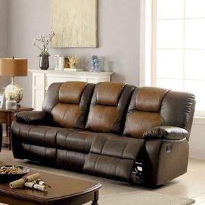 Sofa w/ 2 Recliners