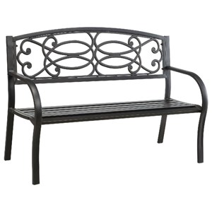 Patio Steel Bench