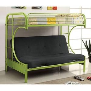 Twin Bed w/ Futon Base