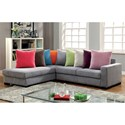 Furniture of America Renata Sectional - Item Number: CM6866-SECTIONAL