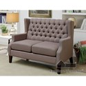 Furniture of America Robin Love Seat and Chair Set - Item Number: CM-BN6186-2PC