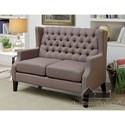 Furniture of America Robin Loveseat - Item Number: CM-BN6186-LV-PK