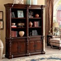 Furniture of America Roosevelt Book Shelf - Item Number: CM-DK6252SL-PK