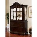 Furniture of America Rosalina Hutch & Buffet - Item Number: CM3878HB-SET