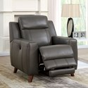 Furniture of America Rosalynn Reclining Chair - Item Number: CM6804-CH