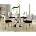 Furniture of America Roxo Round Dining Table - Item Number: CM3729T-TABLE