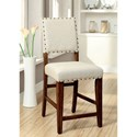 Furniture of America Sania Counter Height Chair - Item Number: CM3324PC-2PK