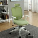 Furniture of America Sargas Office Chair - Item Number: CM-FC641GR