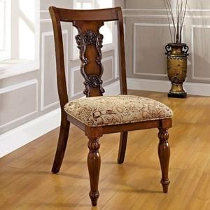 Furniture of America Seymour Side Chair (2/CTN)