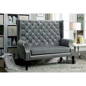 Superieur Furniture Of America Shayla Love Seat Bench