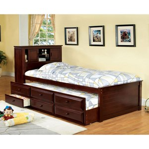 Coaster La Salle Twin Captain S Bed With Trundle And Storage