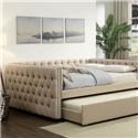Furniture of America Suzanne Trundle - Item Number: CM1028TR