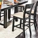 Furniture of America Thomaston I  Counter Height Stool Set - Item Number: CM3543PC-2PK