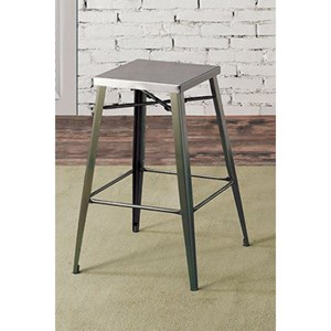Set of 2 Counter Height Bar Stools