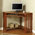 Furniture of America Toledo Corner Desk - Item Number: CM-DK6641