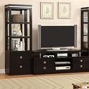 Furniture of America Tolland Pier Cabinet - Item Number: CM5825-PC