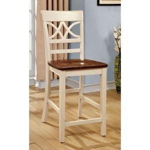 Furniture of America Torrington II Counter Ht. Chair (2/CTN)