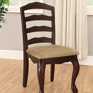 Furniture of America Townsville Side Chair (2/Ctn)
