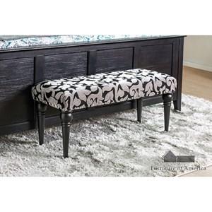 Furniture of America Trisha Bench