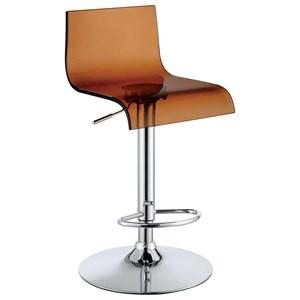 Furniture of America Trixy High Back Bar Chair (2/CTN)