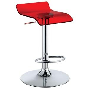 Furniture of America Trixy Low Back Bar Chair (2/CTN)