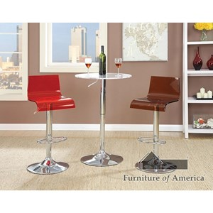 Furniture of America Trixy Bar Table