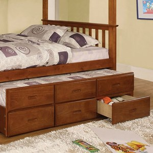 Furniture of America University Trundle W/ 3 Drawers